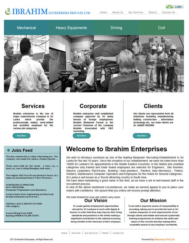Ibrahim Enterprises Pvt Ltd