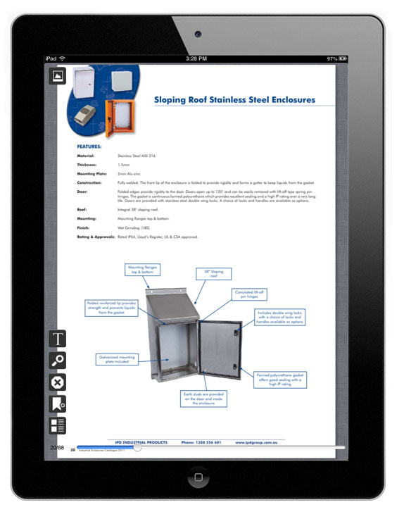 IPD products catalog