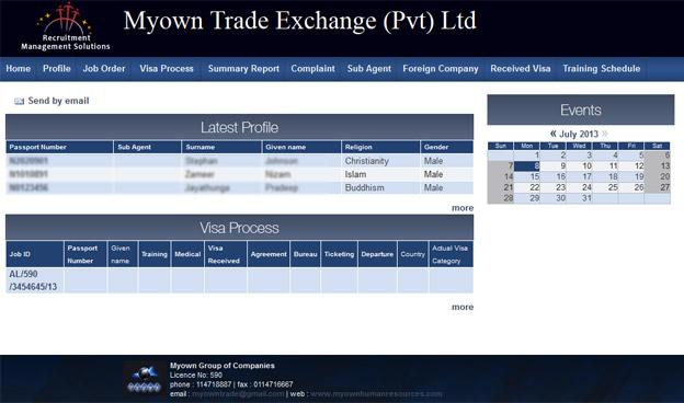 Myown Trade Exchange (Pvt) Ltd