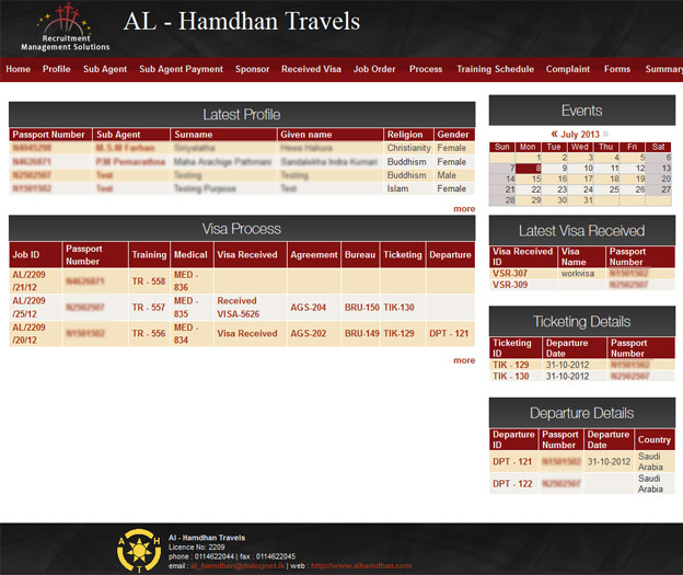 AL - Hamdhan Travels